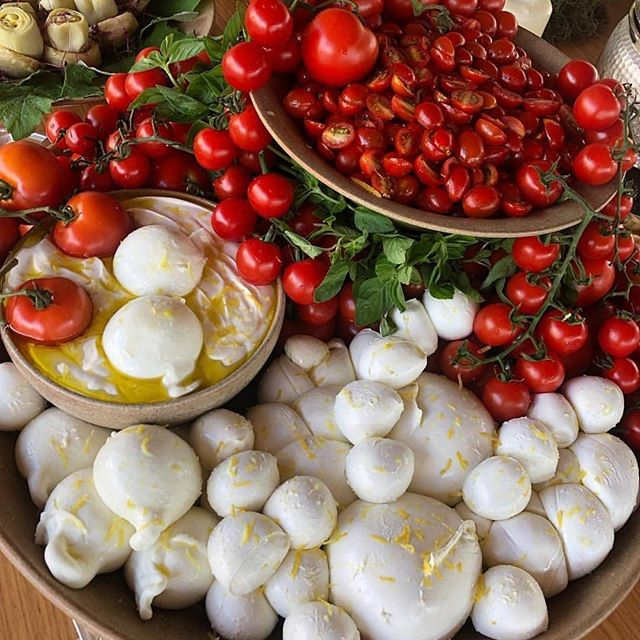 Is it summer yet? We want #burrata. 😍 #youshouldtrythischeese via @burratagram @greccocoppola #burratagram