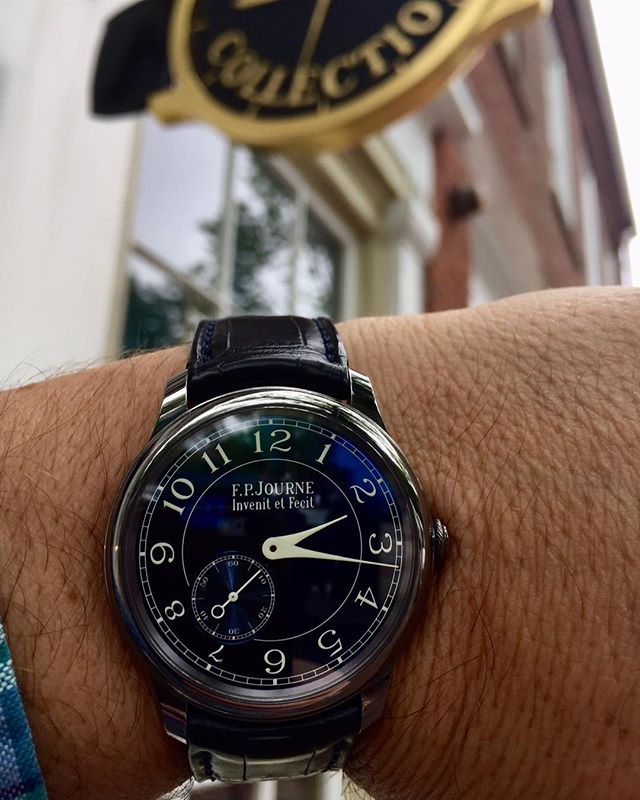 An F.P. Journe in honor of our 150th post!! #fpjourne #trinitycollection #nantucket