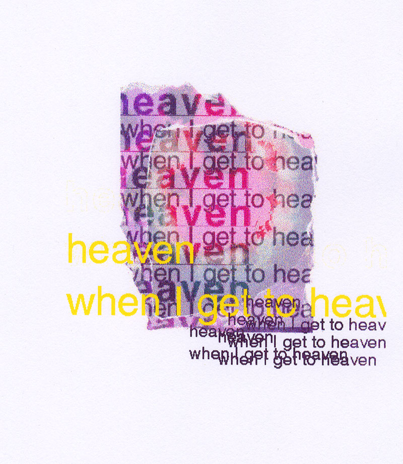 Kate Southworth,  Heaven  (1997), Digital Painting