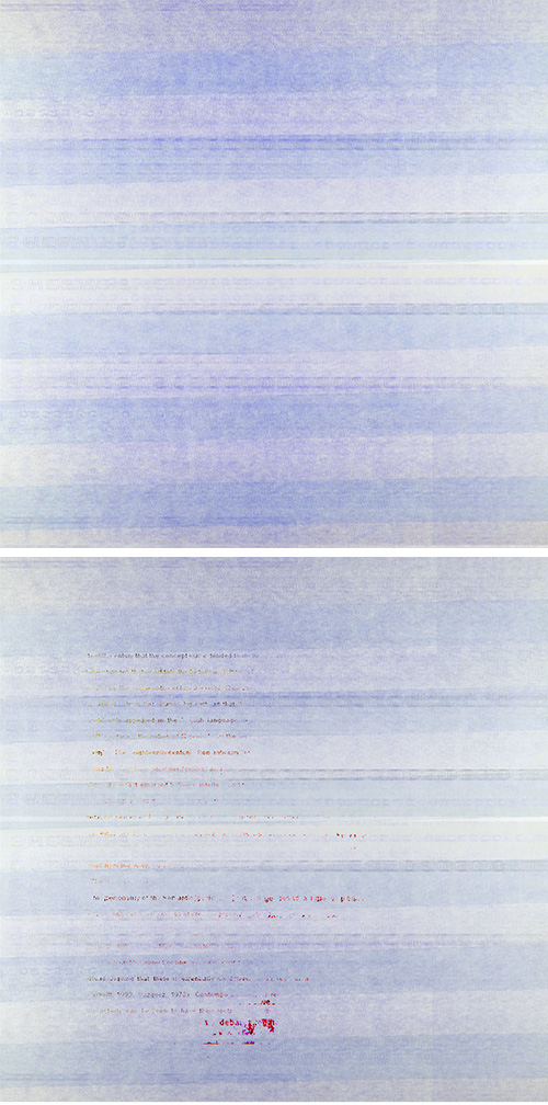 Brooding Series (#4), Giclée Print on Canvas (50cm x 100cm)