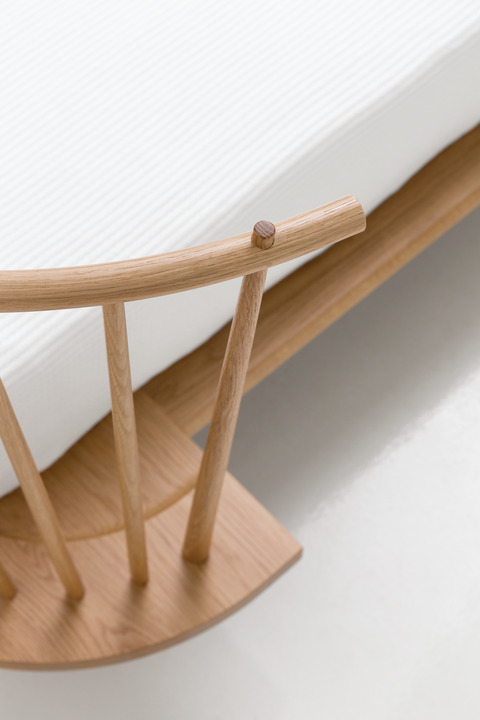 > Detail of Foreside Bed joinery.