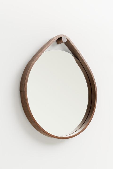 > Large Hoop Mirror.