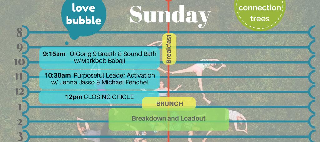 Sunday Schedule Sum18