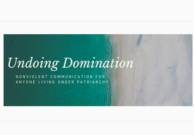 Josh Blaine Undoing Domination nonviolent communication for anyone living under patriarchy