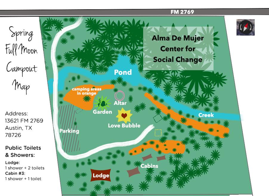 Map Of Alma De Mujer