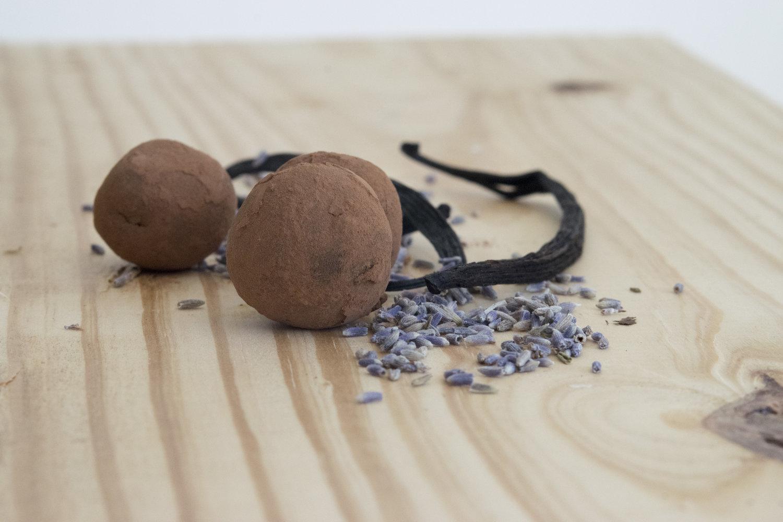 Lavender Menace Truffles