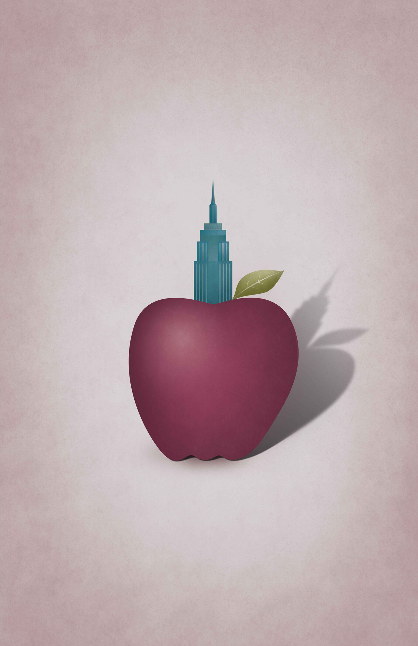 Empire Apple  | Juxtapose Illustration