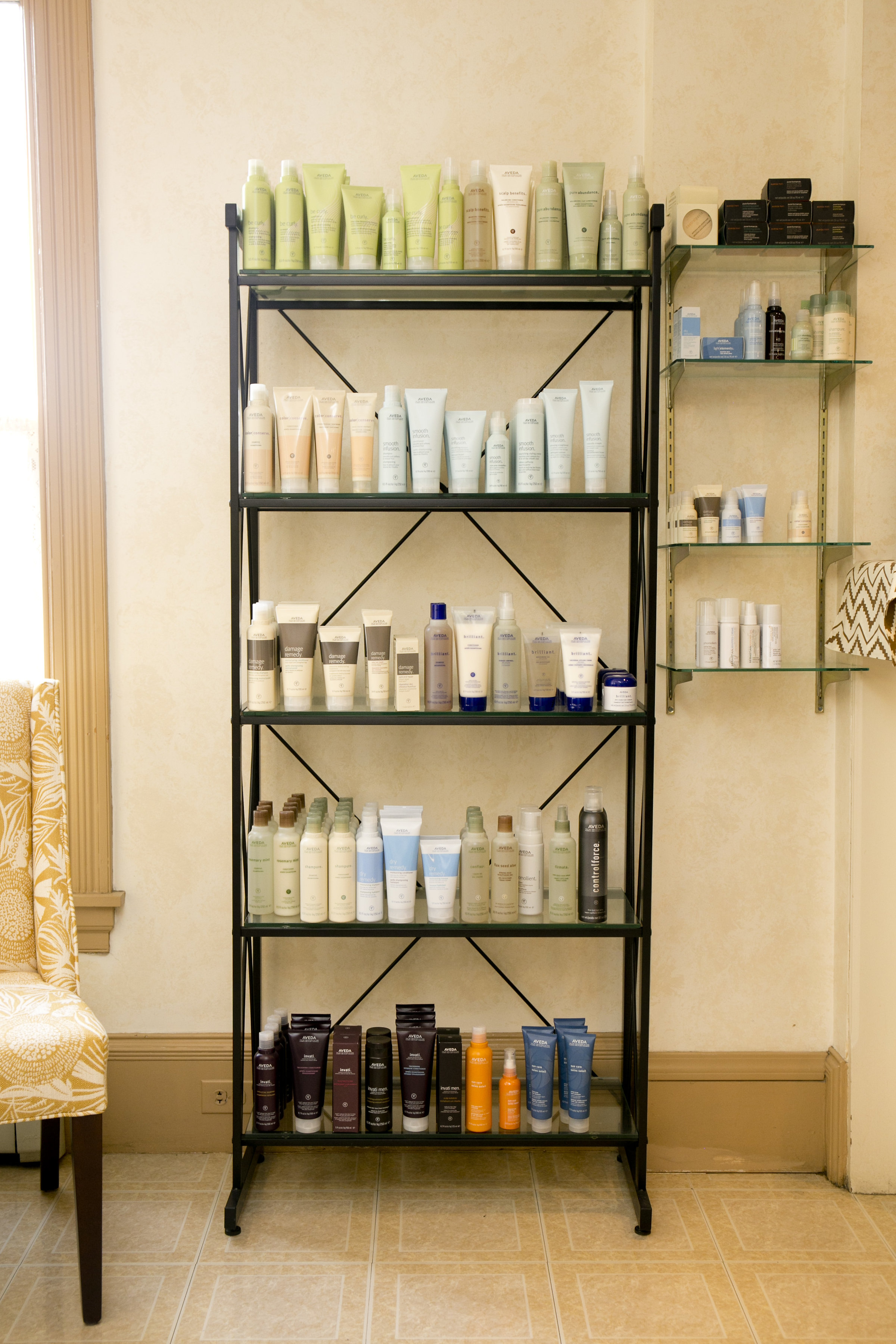 Professional salon products - View the product lines we recommend and trust.