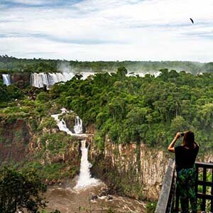 Inside the Wonder of Iguaçu Falls - On the border of Brazil and Argentina is one of the world's most breathtaking series of waterfalls. But beyond the majestic falls, there's much more wilderness to explore.Airbnbmag, May 2019