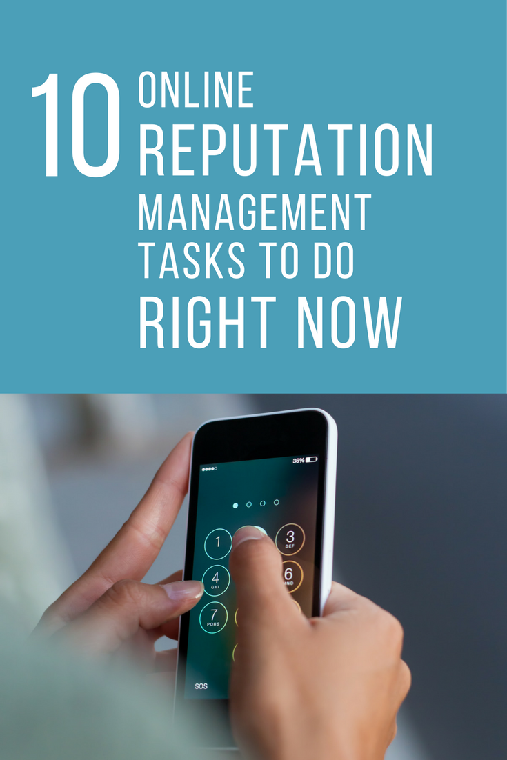 10 Online Reputation Management Tasks CAMP PROS Must Add To Their Calendars NOW