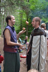 medieval juggling