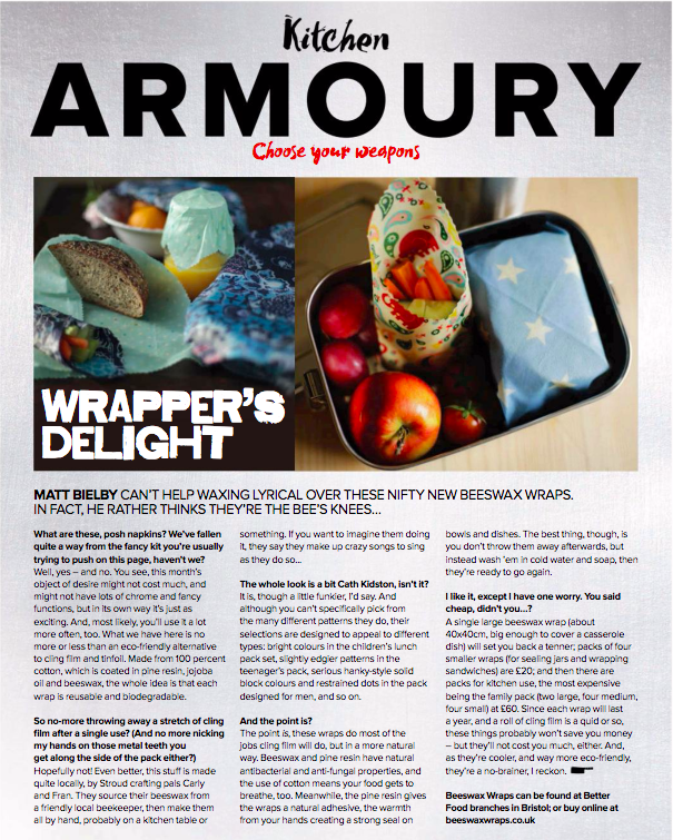 We were featured in the Crumbs Bath and Bristol Magazine. If the text is a little too small you can read the whole article  here