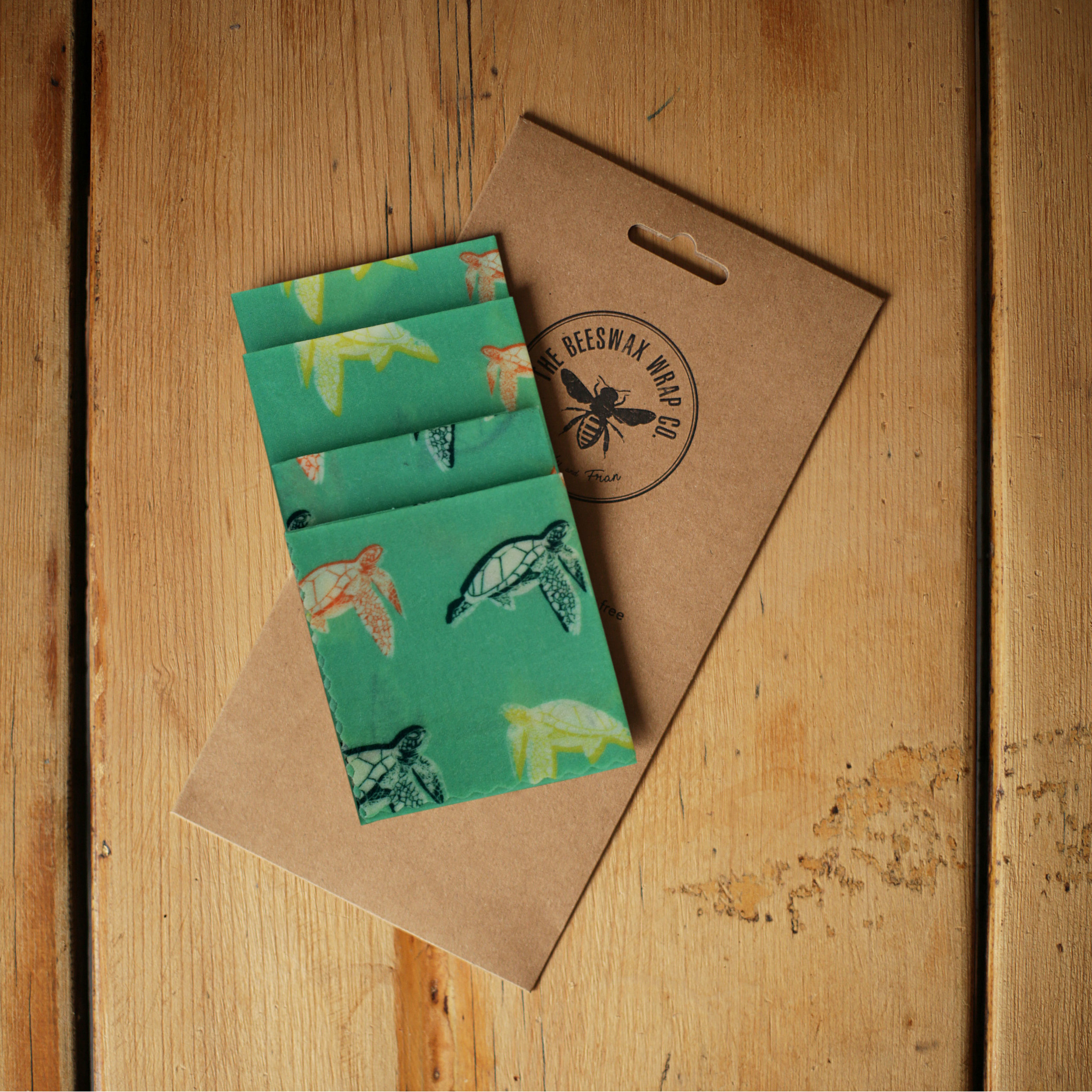 Beeswax Wrap Turtles Lunch Pack low res.jpg
