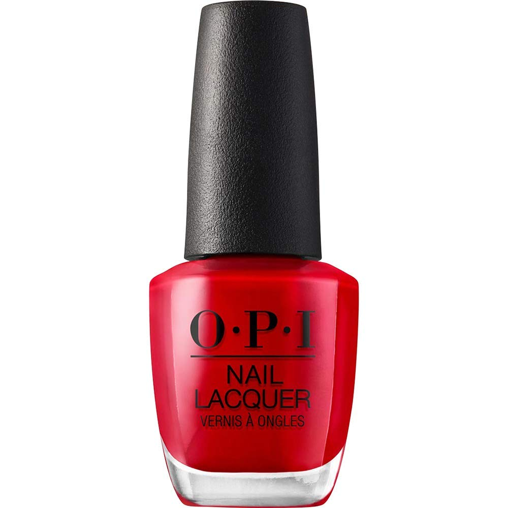 Big Apple Red Nails - My all-rounder, no-brainer, red nail for every holiday. Be it Christmas or Valentine's Day. No particular spring updates for this one, just a beautiful bold color.
