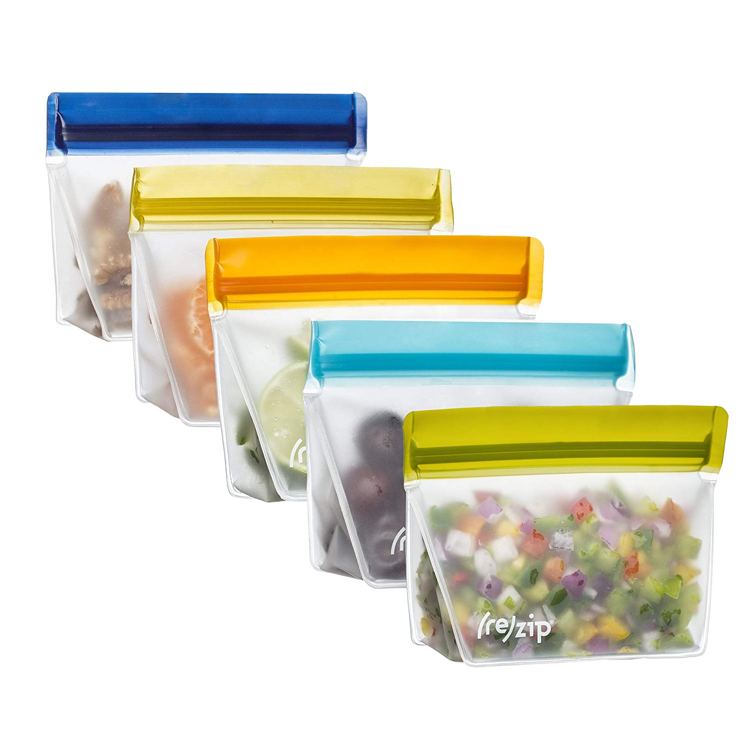 Silicone Bags - Once I started working an office job where I was packing a lunch and snacks, I realized just how much unnecessary disposable plastic I was using out of convince. And you can't count on this administration to do shit about the planet, so we have to help our fucking selves. These reusable silicone bags are so brilliant. Dishwasher safe, hypoallergenic, waste reducing, fun-color sealing, and damn near indestructible, you have no excuse by your own stubbornness to not buy a set. Variety packs with different size and color selections are available, and you won't be sorry for introducing any of them into your home and workday lunch bag.