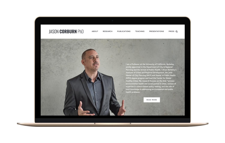 Jason Corburn | Branding & Web Design | Bravebird Studio