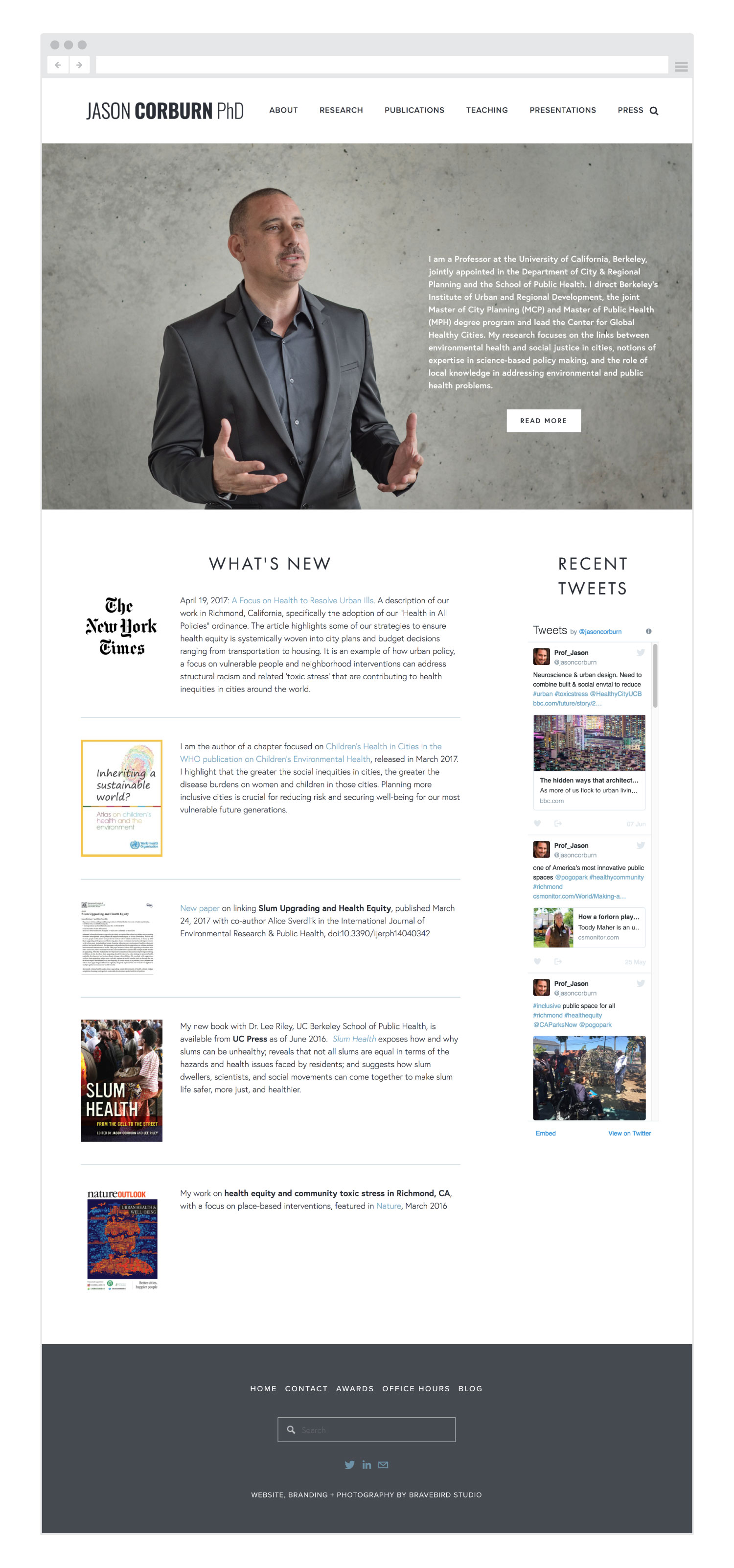 Jason-Corburn-homepage-Bravebird-Studio-web-design-branding