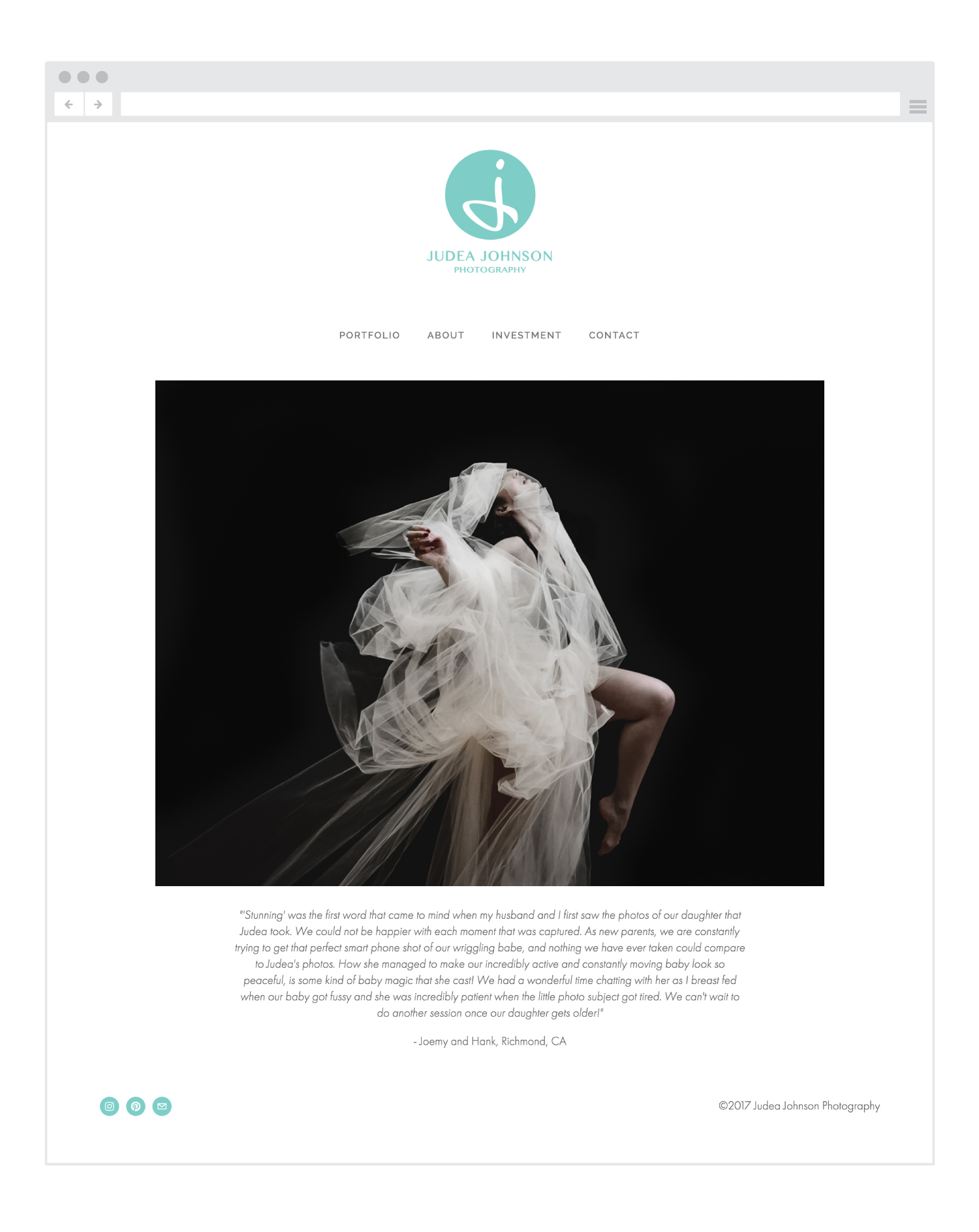 Judea-Johnson-Photography-homepage-branding-webdesign