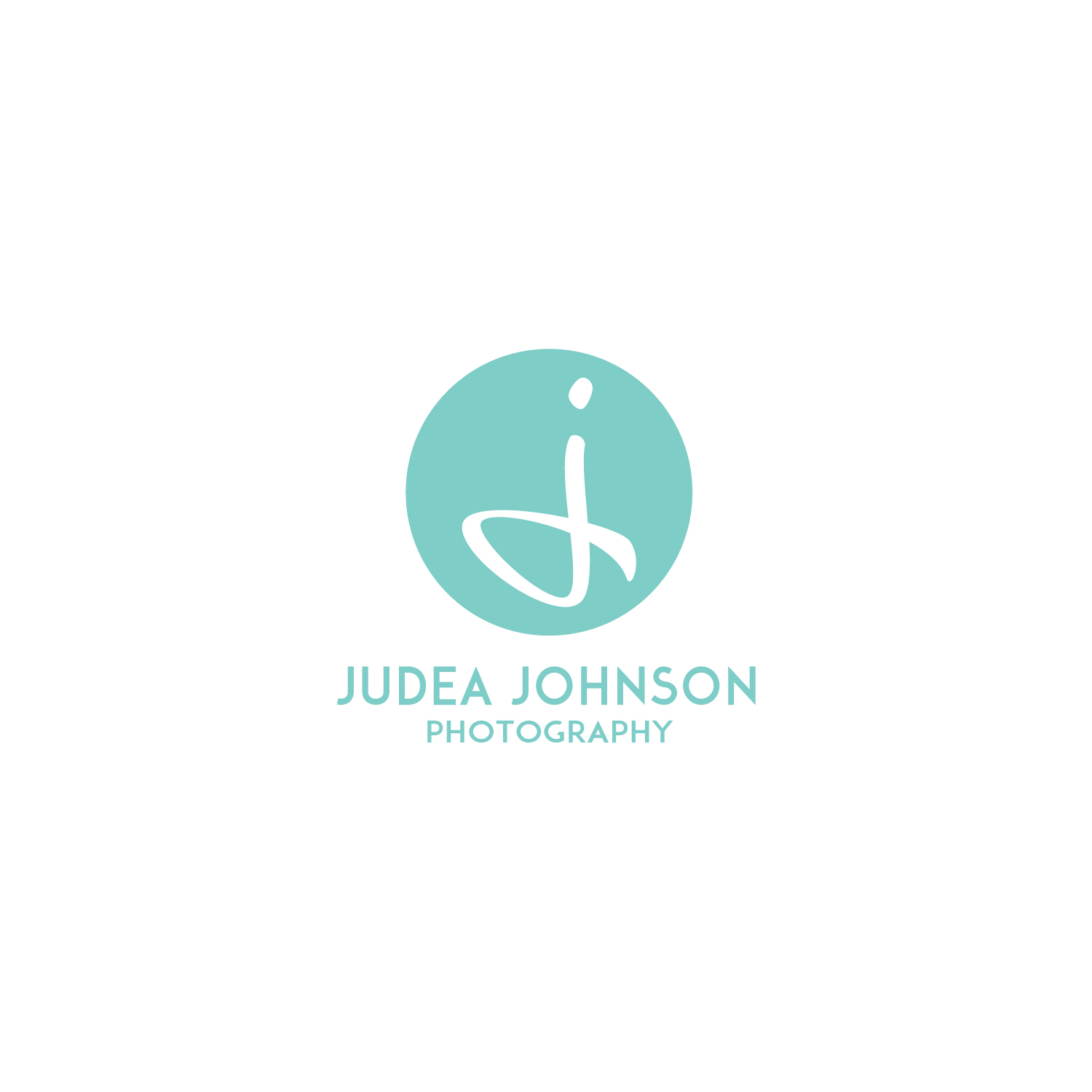 Judea Johnson Photography | Logo Design | Bravebird Studio - Branding & Web Design