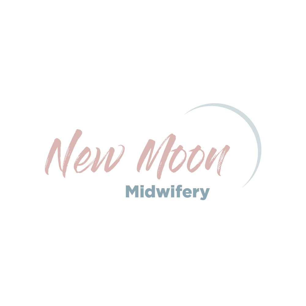 New Moon Midwifery | Logo Design | Bravebird Studio - Branding & Web Design