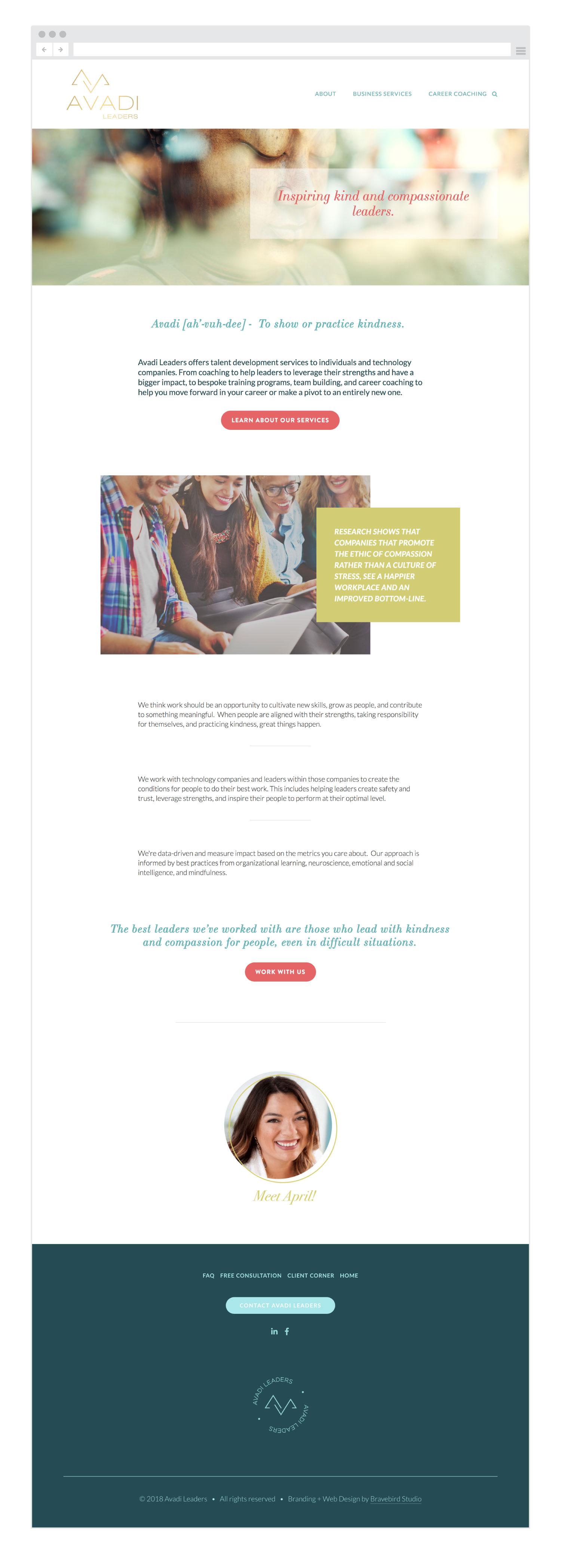 Avadi Leaders | Branding & Web Design | Bravebird Studio