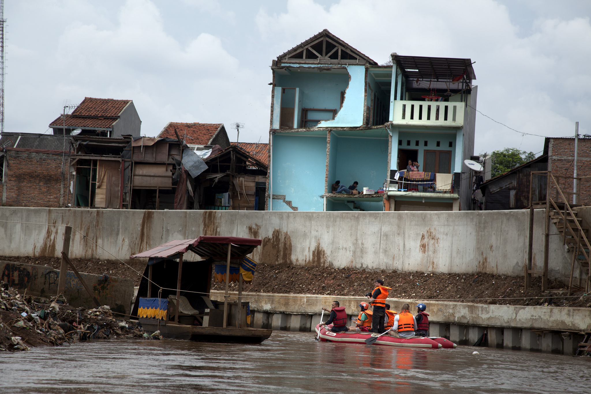 Recent evictions in Jakarta.