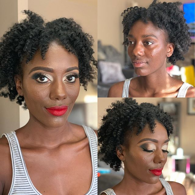 This beautiful queen 👑 @gabbyknight_ getting ready to shoot with @afterdarkturlie . . . #cleanbeauty #MUA #kendettaartistry #makeupartist #beauty #makeupaddict #makeupbyme #bridalmakeup #nofilterneeded #beforeandafter #tacomamakeupartist #seattlemakeupartist