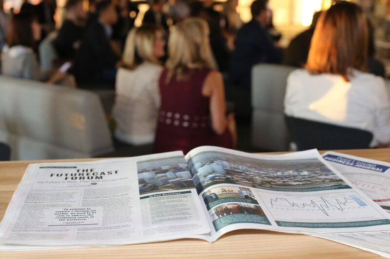 Much of the discussion by the FutureCast Forum members was also captured in a newly published feature in the Puget Sound Business Journal – download a PDF  here .