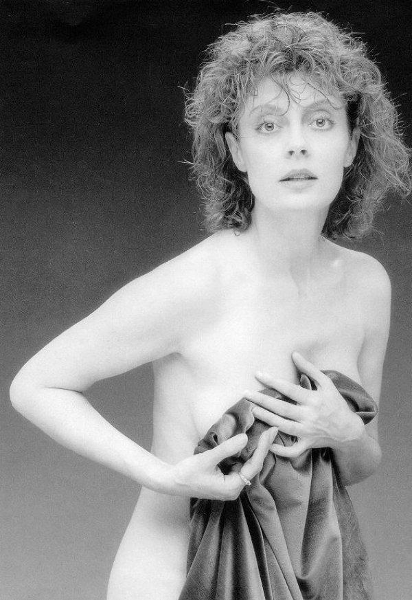 Photo of Susan Sarandon by Robert Mapplethorpe