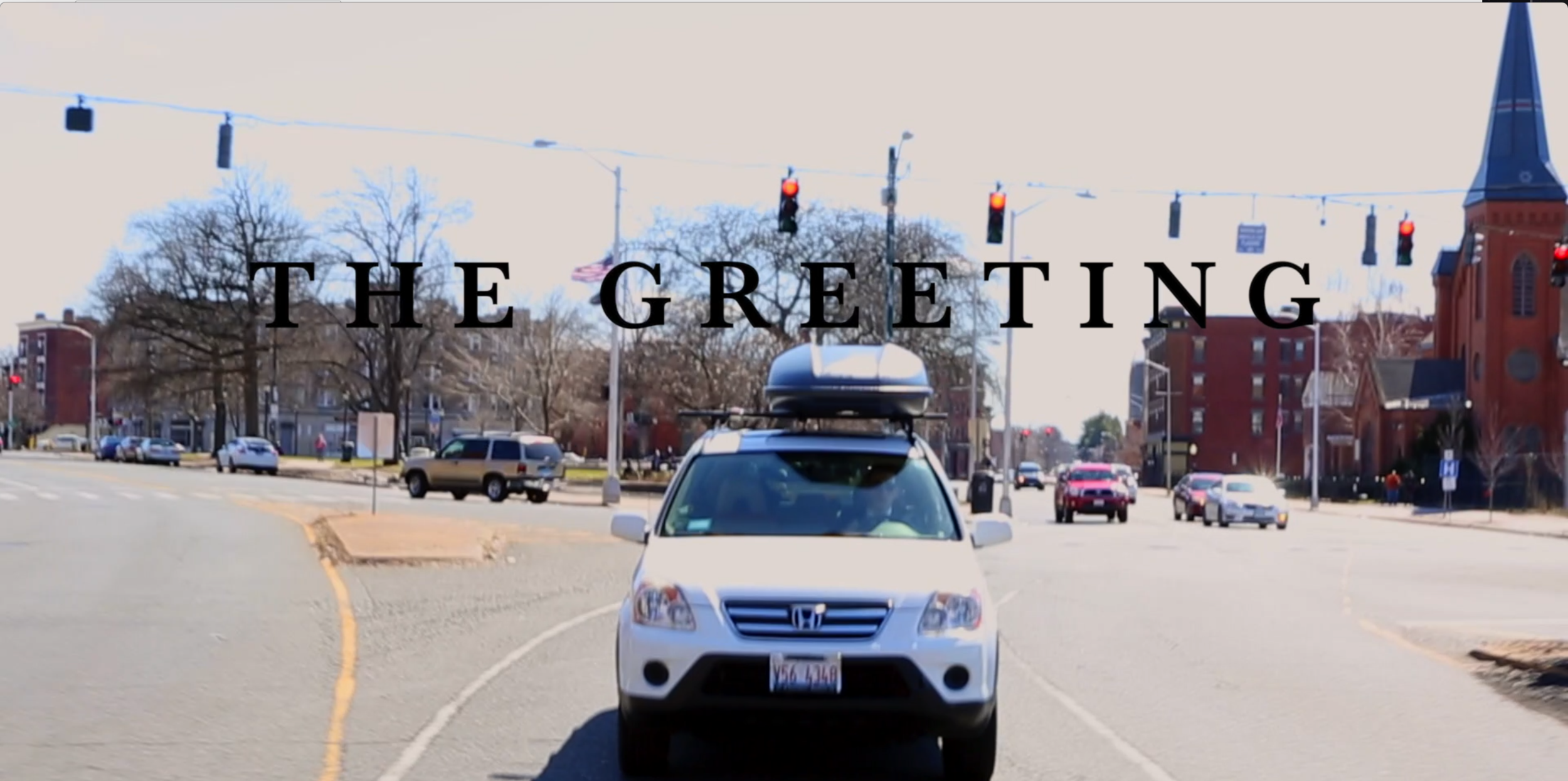 With the director in the trunk of the car in front of me, we drove around downtown Hartford for nearly two hours to complete this scene. The opening credits were shown with it.