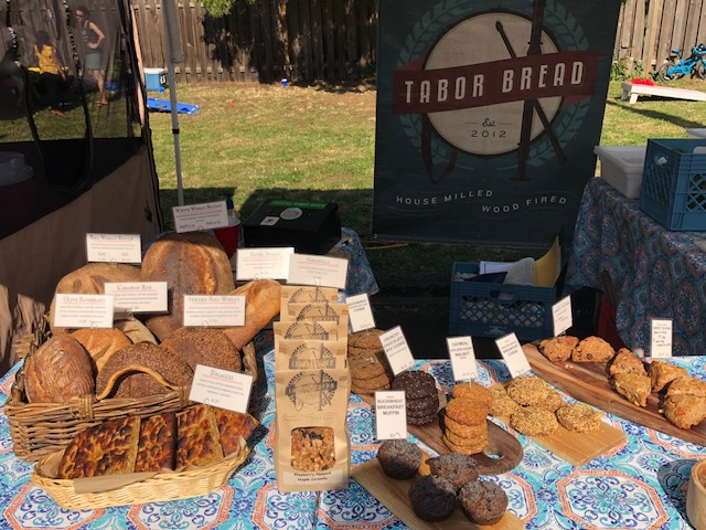 Tabor Bread's wide selection of exquisite baked goods