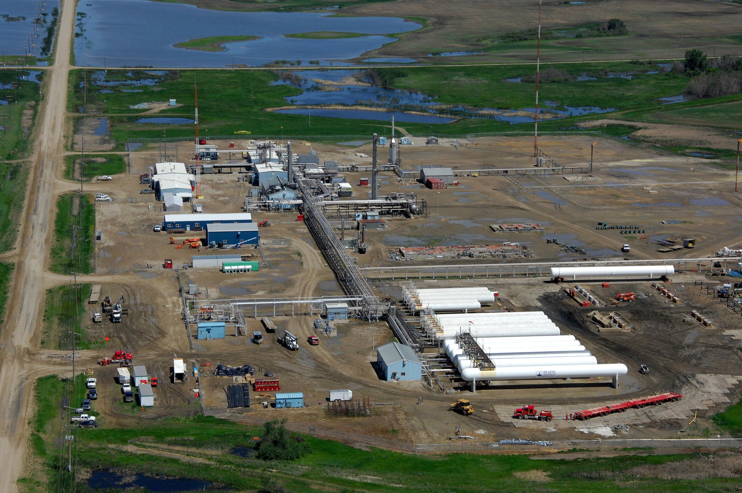 Steelman Gas Plant