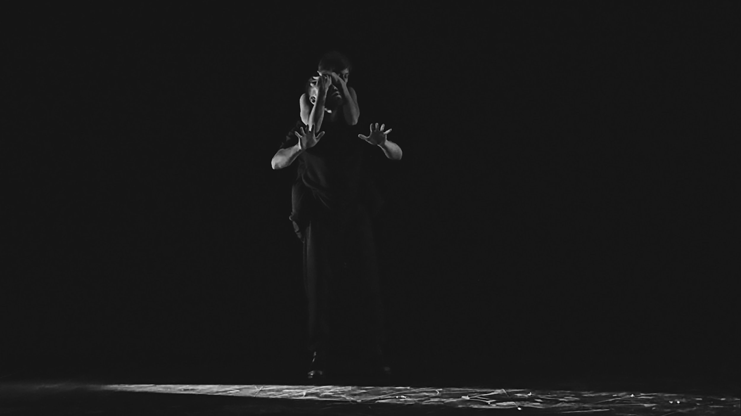 """[decoherence]"" (SummerWorks 2016)  Jessie Garon - VAZARI DANCE PROJECTS  Photo by Francesca Chudnoff"