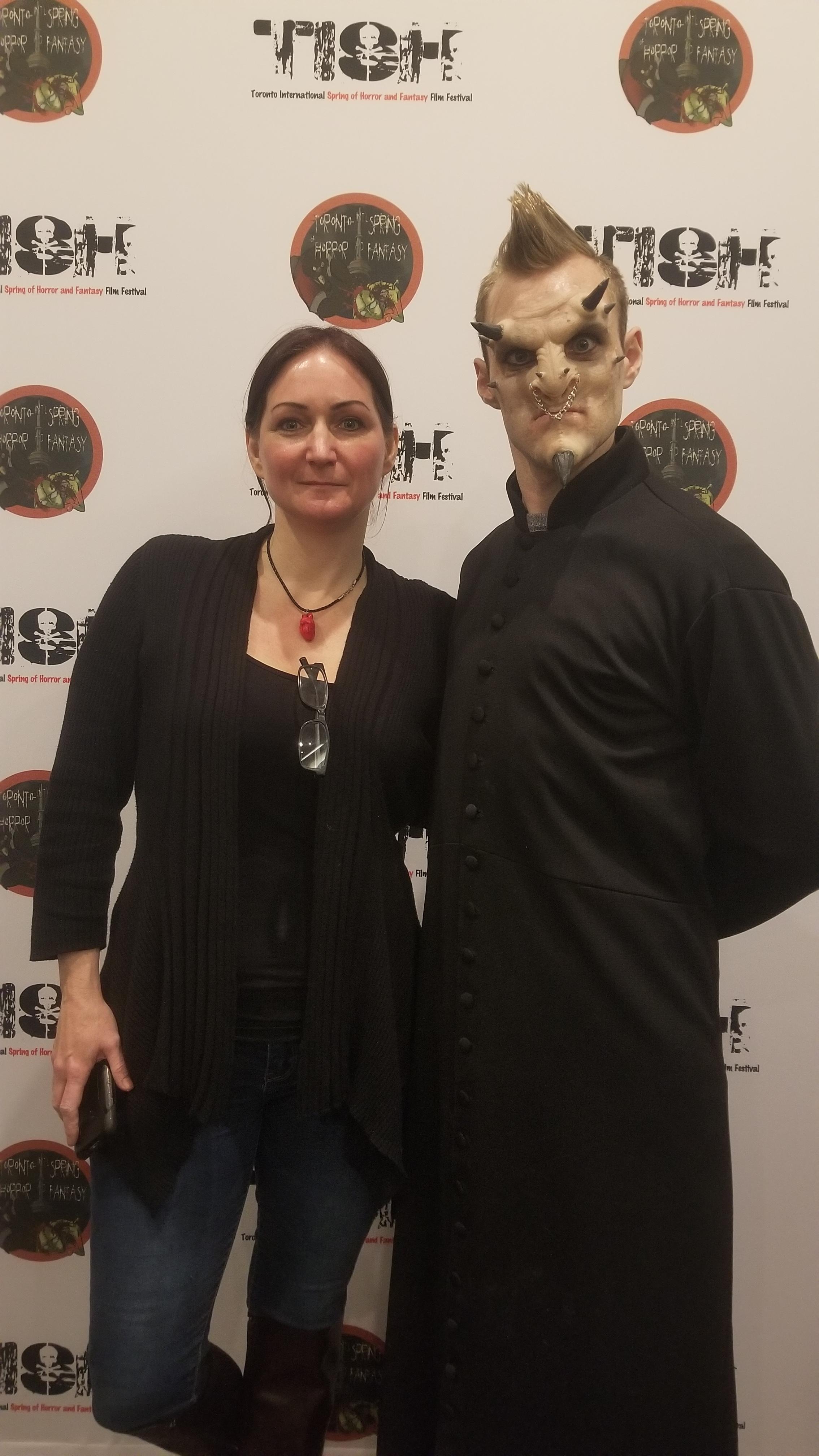 Make-Up demo at the Toronto International Spring of Horror & Fantasy Film Festival