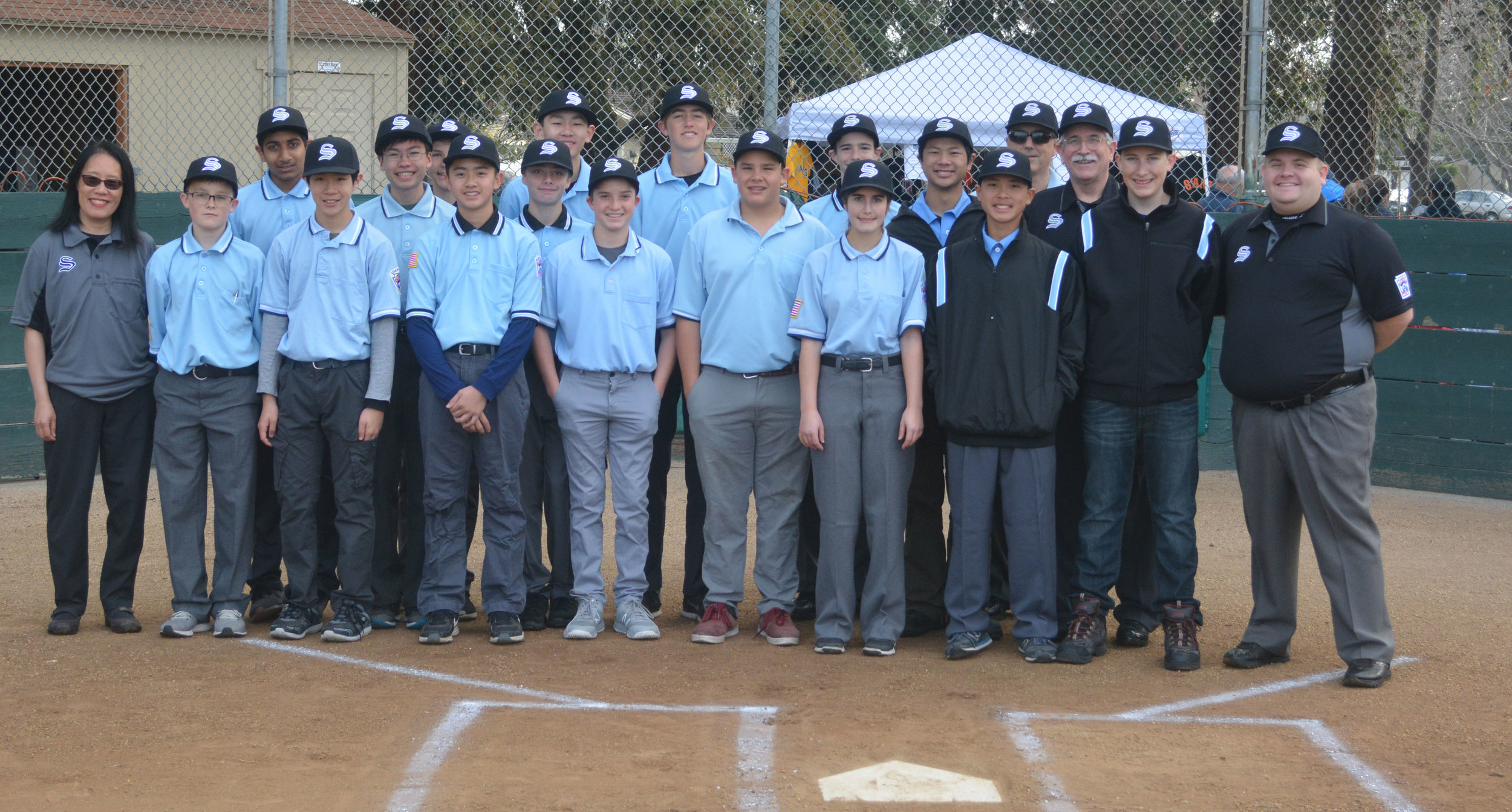Majority of the 2018 Umpire Crew