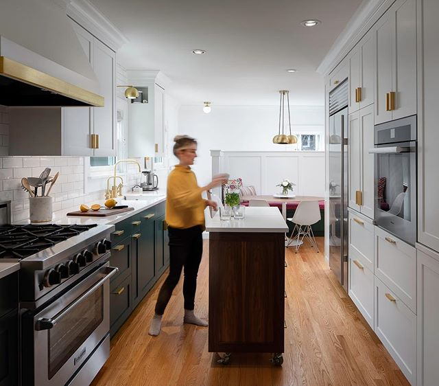 What an amazing kitchen design by @introspecscph and Olson and Jones construction. -  #interiordesign #kitchendesign #interiors #lifestyle #photograph