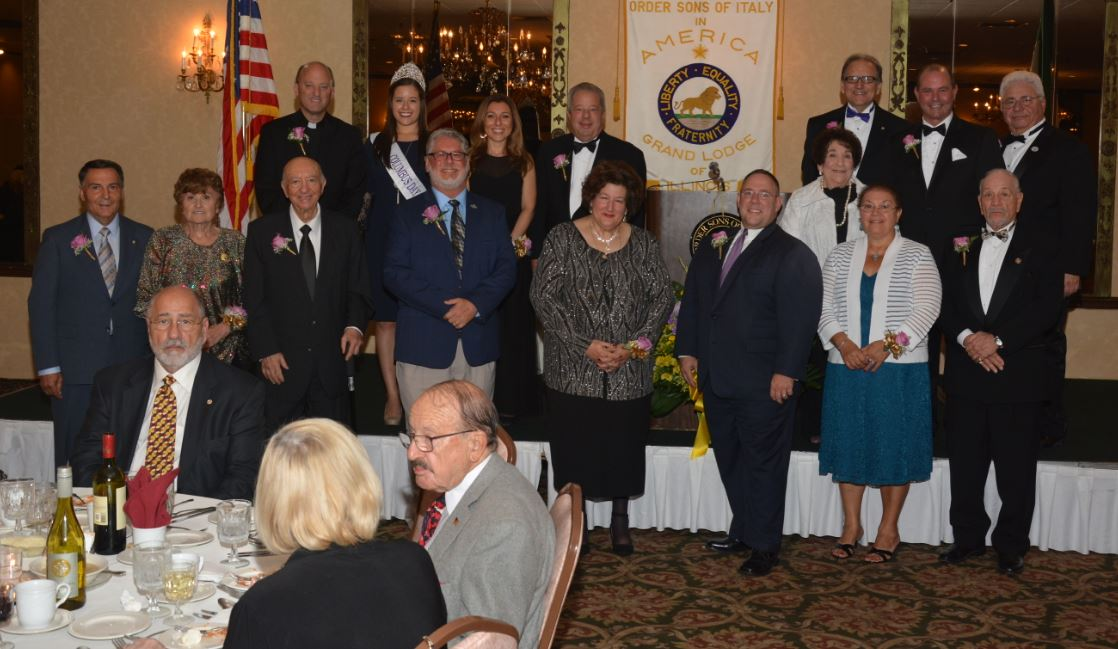 - Celebrating its 94th Annual Columbus Banquet, the Grand Lodge of Illinois/Wisconsin, Order Sons and Daughters of Italy in America, hosted the event at the White Eagle Banquets in Niles, Illinois on October 6, 2018.