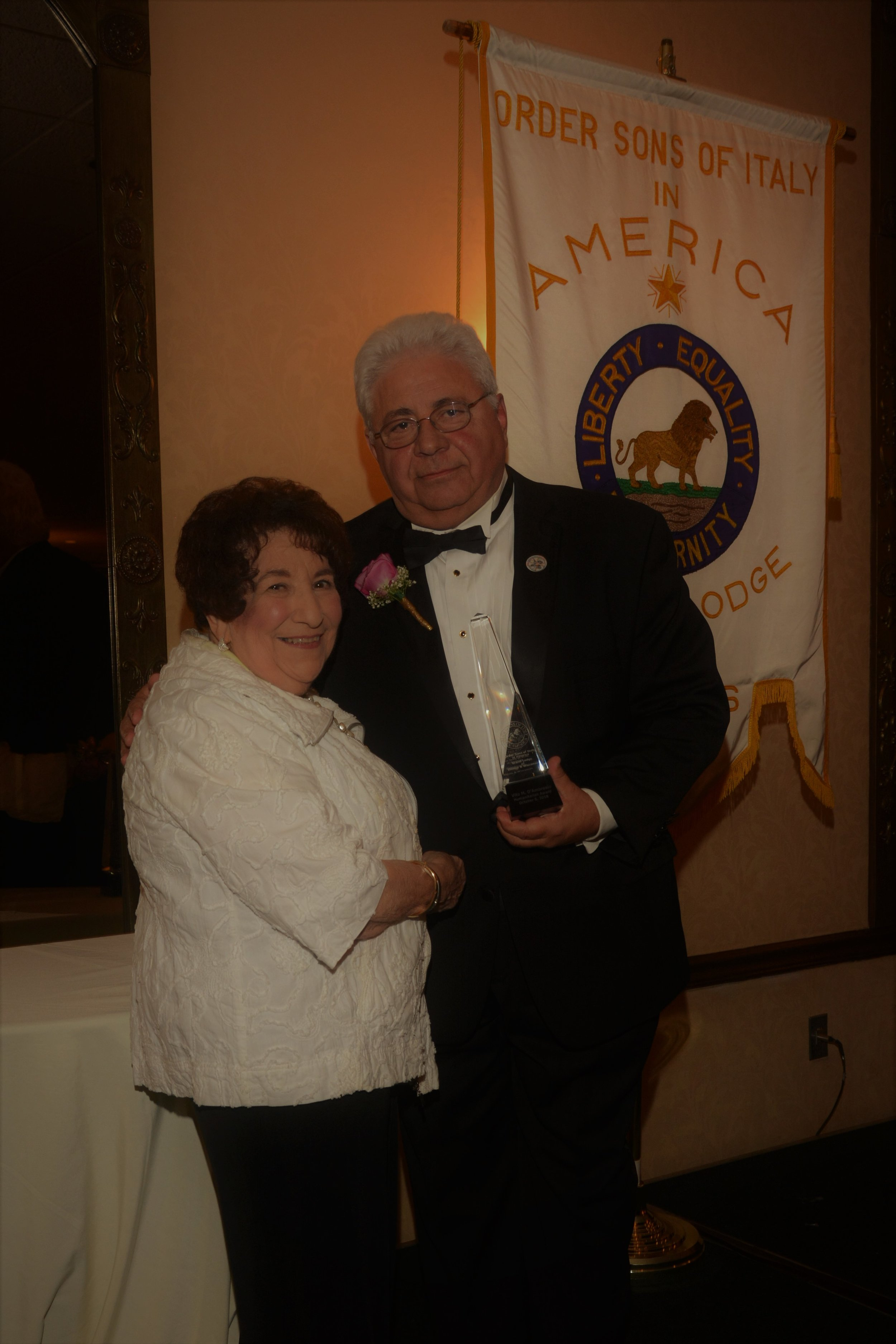 - Vito M. D'Ambrosio, President of the Italian American Executives of Transportation, was honored as OSIA's 2018 Humanitarian. D'Ambrosio was born in Ricigliano, Salerno, Italy and came to America in 1958 at the age of 4.Mr. D'Ambrosio became president of IAET in 2004 and remains as current president. Under his energetic leadership and organizational skills, IAET is actively engaged in the community.