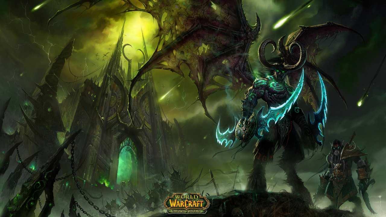 Art from Blizzard's   Burning Crusade  .