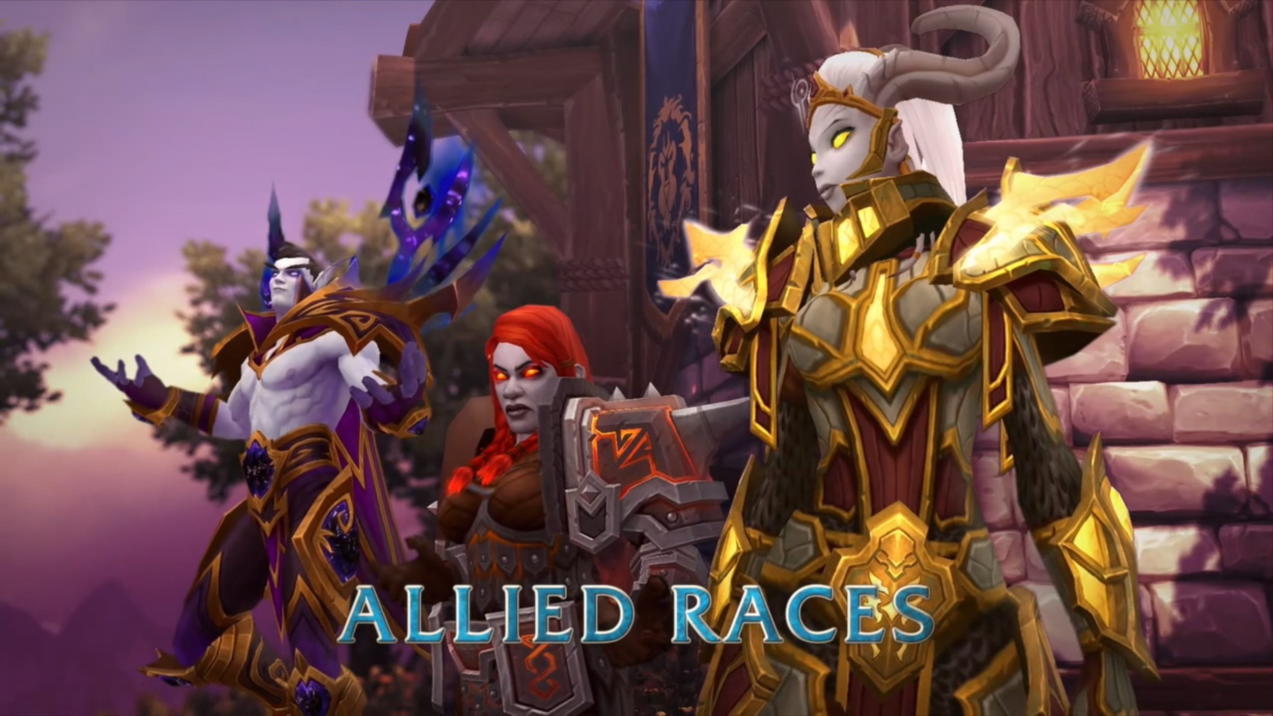 I will NOT play Alliance just so I can be a Void Elf gdi...