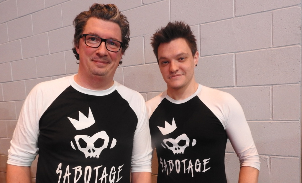 Sabotage co-founders Martin Brouard and Thierry Boulanger