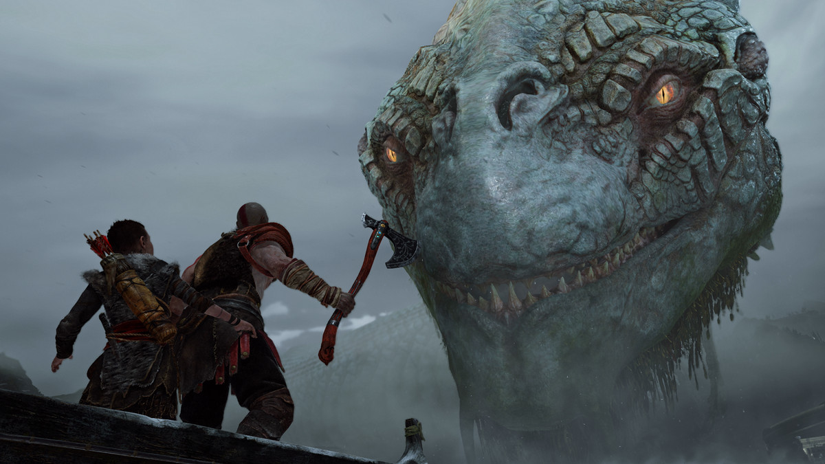 Grand scale has always been one of  God of War's  strong points but this redefines it.