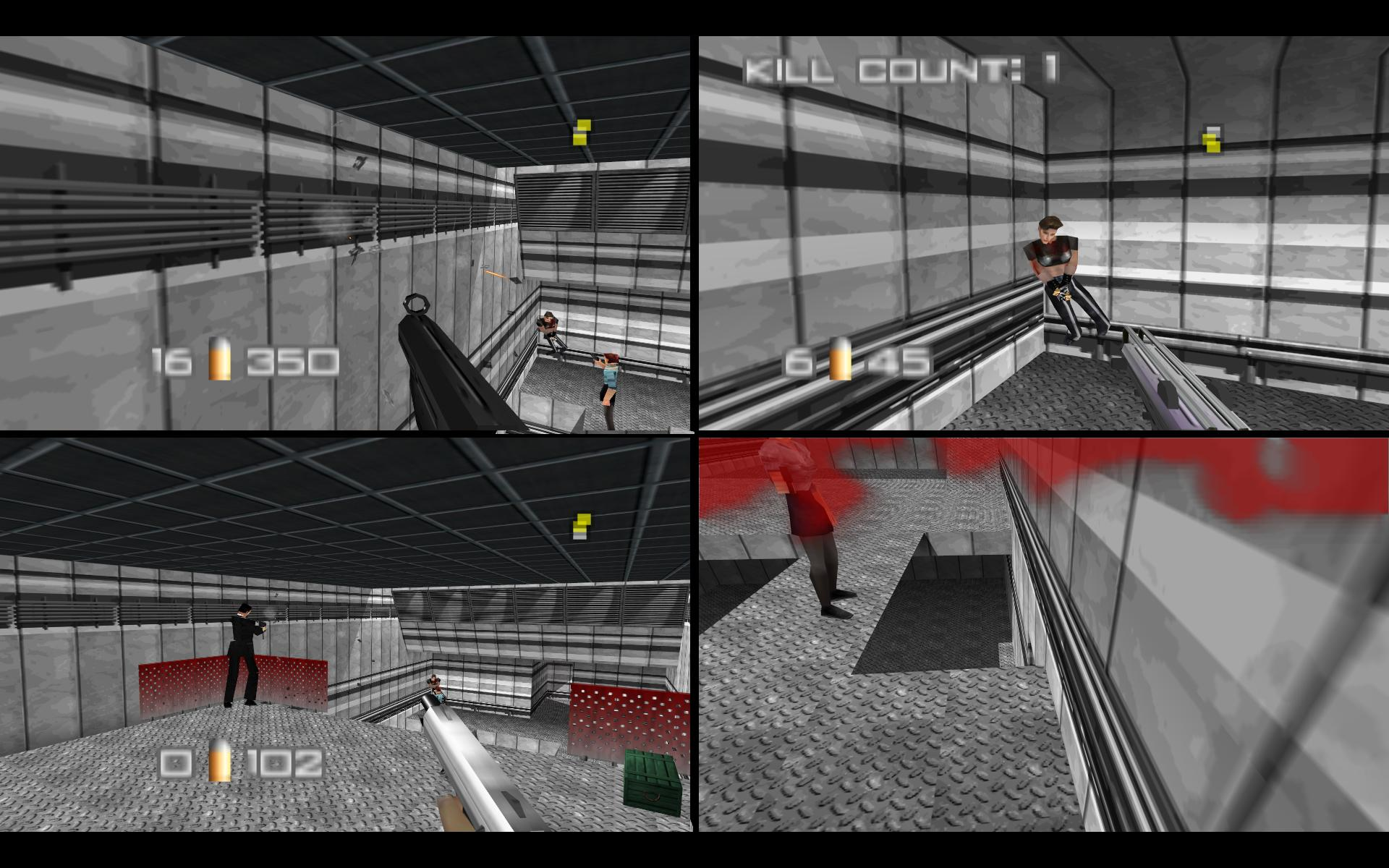 Imagine if the makers of  Goldeneye  tried to sue every FPS that had a split-screen feature.