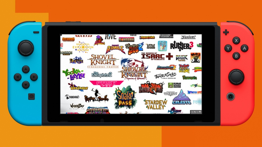 Look at all those indie titles.