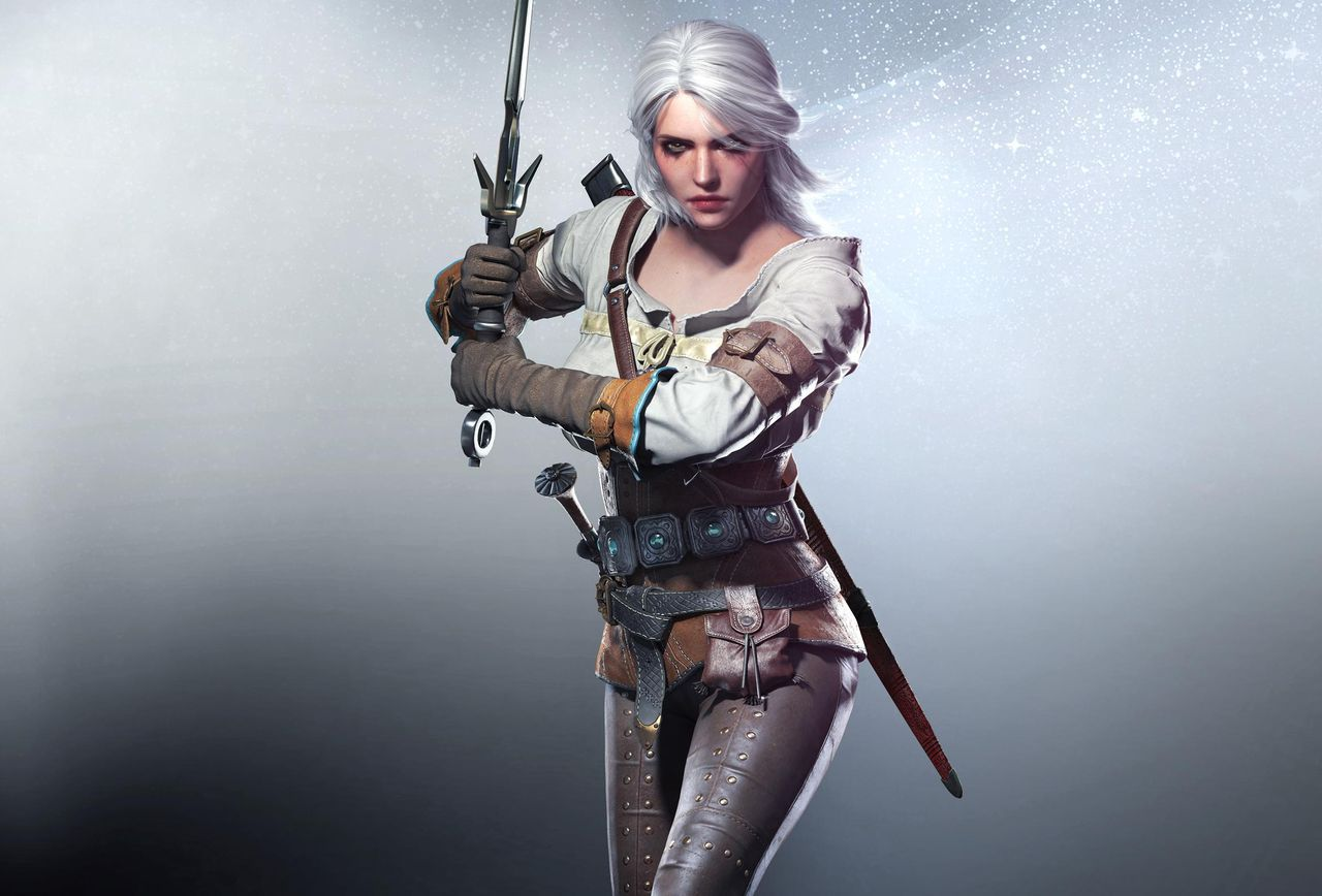 """""""Ciri is strong willed, resourceful, courageous and one of the best sword wielders alive…but so help me god if she isn't white…"""""""