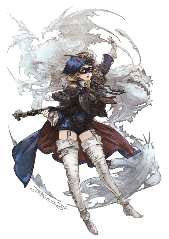 The Blue Mage job, a staple in many  Final Fantasy  games, is able to learn and harness their enemies' skills in battle.