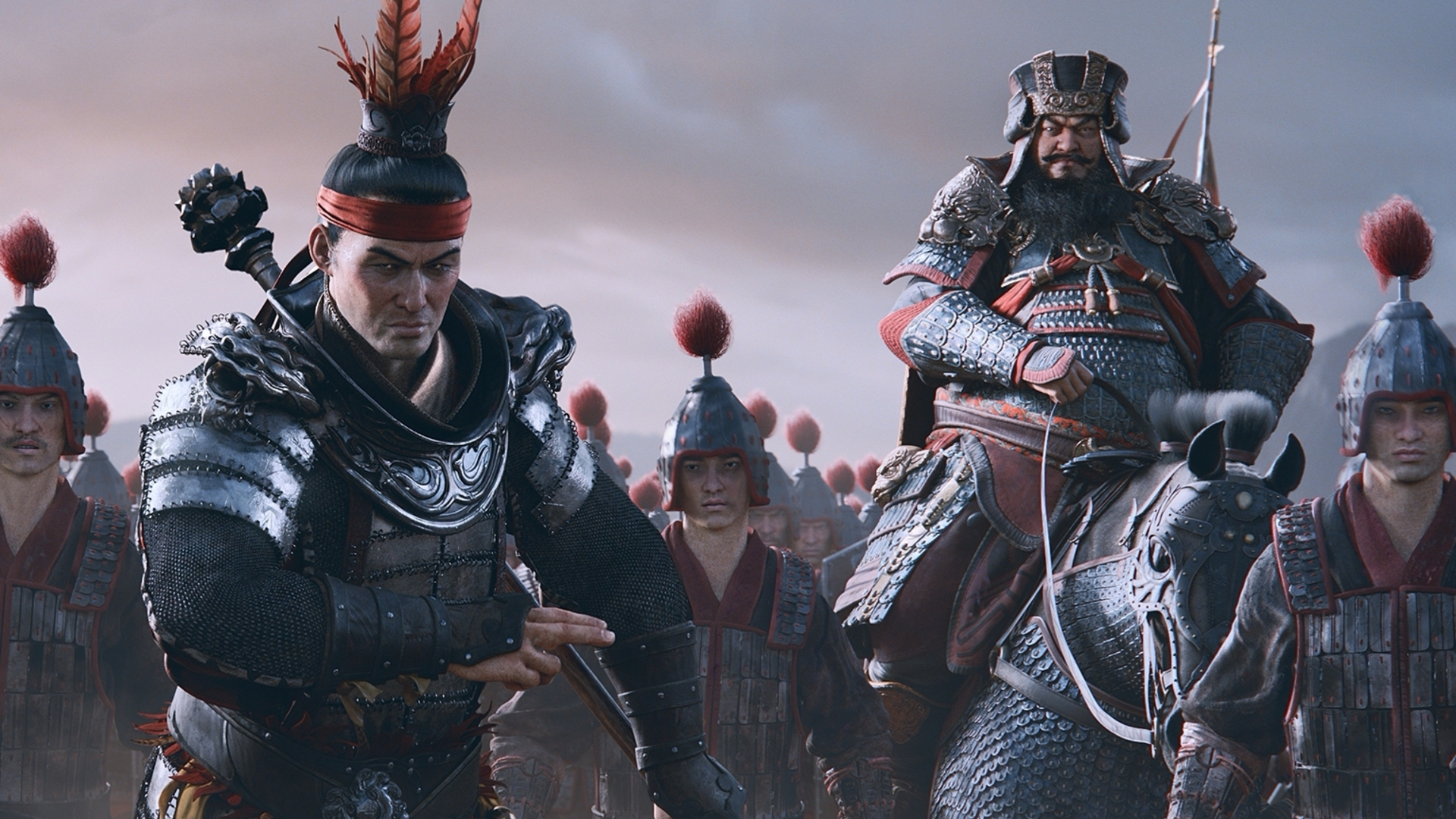 If  Dynasty Warriors  had any influence on the development of this game, then my man Lu Bu is NOT gonna be somebody you wanna mess with.
