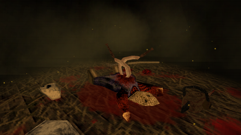 When the very first thing you see after you load up a game is a chainsaw wielding maniac impaled by sickles, you may have some sort of idea what you're in for.