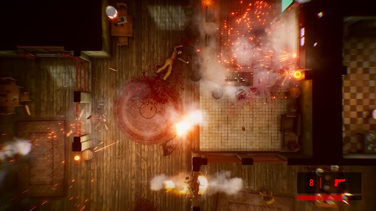 Bullet-time does a fantastic job of accentuating the explosive chaos of every gun battle and can still be quite satisfying in spite of the games repetitive nature.
