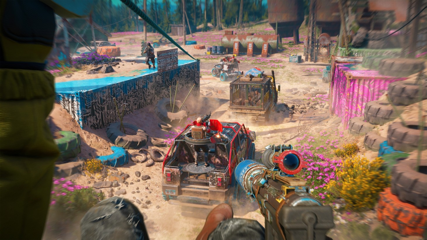 The thrilling action you come to expect from  Far Cry  is very much still here.